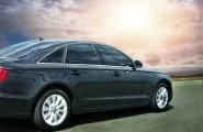 Schwarzer Audi
