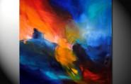 Reizvolle Farben angeordnet zu ästhetischen Komposition