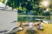 Ausflug zum See mit unseren Wohnmobilen