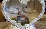 Alles Gute zur Hochzeit Geschenkartikel aus Keramik
