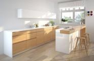 Küche Eiche und weiß von Blaeser & Sauer GbR aus Neuwied