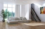 Vinylboden und Treppenstufen von der Tischlerei Holz in Form