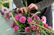 Blumengesteck Pink