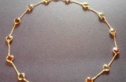 goldenes Collier