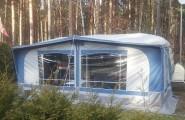 Caravan mit Vorzelt Campingplatz in Rheinsberg