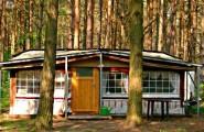 Caravan mit großem Vorzelt Camping am Reiherholz