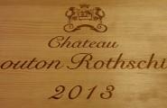 Weinfass mit Chateau Mouton Rohtschild Wein von Gerads Weinmarkt.