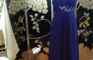 Blaues Abendkleid von Prestige Braut- und Abendmoden in Bonn