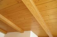 Deckensystem helles Holz