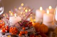 Dekoration Herbst