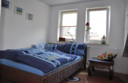 Schlafzimmer Falk der Pension Kawa in Delmenhorst