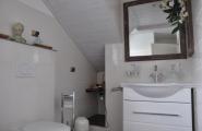Badezimmer der Wohnung Falk von der Pension Kawa in Delmenhorst