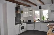 Küche im Obergeschoss von der Pension Kawa in Delmenhorst