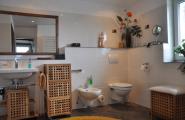 Badezimmer der Wohnung Dennis von der Pension Kawa in Delmenhorst
