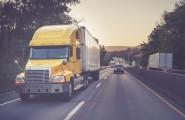 Gelber Truck