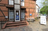 Eingang zum Immobilienbüro von Horn Immobilienbüro in Neubranden