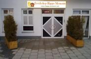 Der Eingangsbereich zum Erotikshop in München