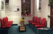 Wartezimmer in der Zahnarztpraxis Dr. med. Christian Gätke in Wittenberge