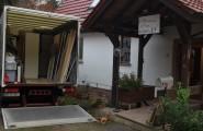 Lieferung von Sachspenden an ein Kinderheim