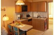 Wohnung 2 mit Kochzeile und Essplatz von Haus Gerrelts auf Norderney