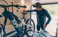 Viel Stauraum für Ihr Fahrrad in unseren Wohnmobilen
