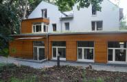 Anbau - Fabrik mittlerer Hasenpfad / Frankfurt vom Architekturbüro Momeni in Offenbach und Frankfurt am Main