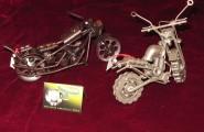 Motorräder aus Schrott gebaut
