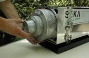 Leichter- und schneller Filterwechsel von Schutzbelüftungssystem