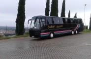 Reisebus von Oelker-Reisen in Sibbesee