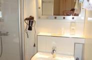 Dusche im Hotel und Restaurant Munzert in Hof/Saale