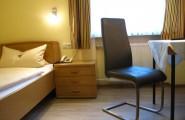 Einzelzimmer im Hotel und Restaurant Munzert in Hof/Saale