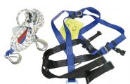Sicherheits-Seil// Sicherheitsgeschirr