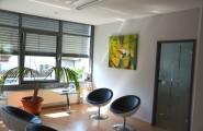 Wartebereich der Praxis für Kieferorthopädie von Dr.Poturak in Bad Soden