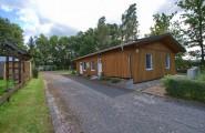 Haus mit Waschräumen auf dem Campingplatz Düderode