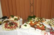 Reichhaltige Auswahl auf dem Buffet von Partyservice Reisdorf in Hamm