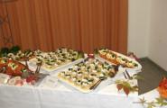 Buffet mit Fischspezialitäten von Partyservice Reisdorf in Hamm