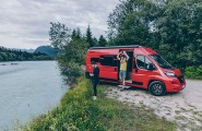 Reisen mit den Reisemobilen Pander