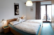Schlafzimmer der Ferienwohnung Andrea
