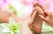 Fußmasage in der podologischen Fachpraxis von Anja Scholz