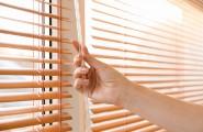 Fenster mit Sonnenschutz