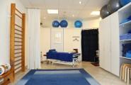 Behandlungszimmer der Physiotherapie Andrei Steinhäuser in Oranienburg