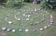 Seelencoaching mit Steinlabyrinth