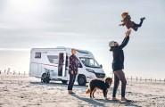 Familienurlaub am Strand mit dem Wohnmobil