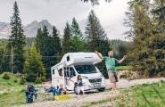 Urlaub mit der ganzen Familie und den Wohnmobilen von Reisemobile Pander