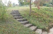 Treppe aus Natursteinen