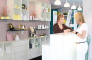 Verkaufstresen von Noblesse – Institut für Cosmetic in Neumarkt