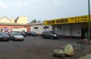 Kundenparkplatz von Wand + Boden Vertriebs GmbH in Frankfurt an der Oder