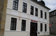 Fassade - Sparkasse von Witt Malerbetrieb & Hausservice in Halberstadt