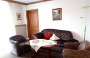 Wohnzimmer der Ferienwohnung Susanne