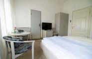 Die Zimmer sind auch als Einzelzimmer nutzbar